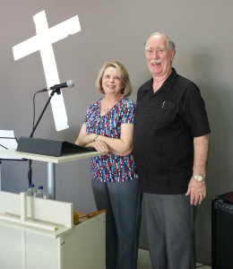 Don & Cyndie in Aracena, Huelva SPAIN