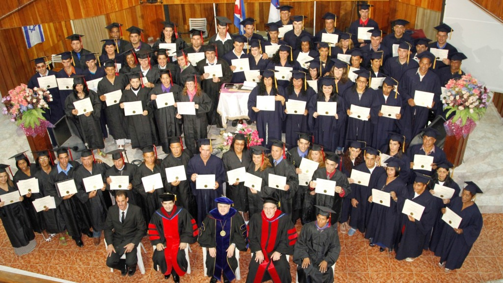 Global Universtiy graduation in Cuba