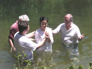 Baptismal Alcalá de Henares Church in Spain