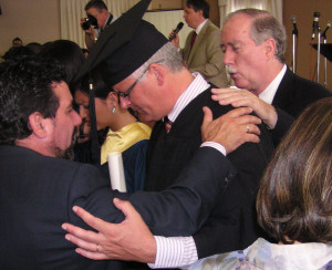 Academic Dean of Bible School in Lisbon receives his MA degree